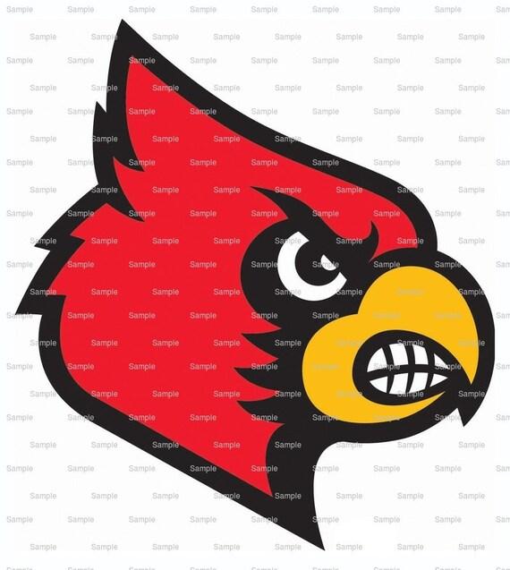Cardinals Mascot Birthday ~ Edible 2D Fondant Birthday Cake/Cupcake Topper ~ D921
