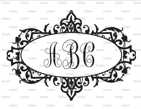Custom Monogram Cake Topper - Create Your Own Custom Edible Cake or Cupcakes Topper For Birthday's and Parties!