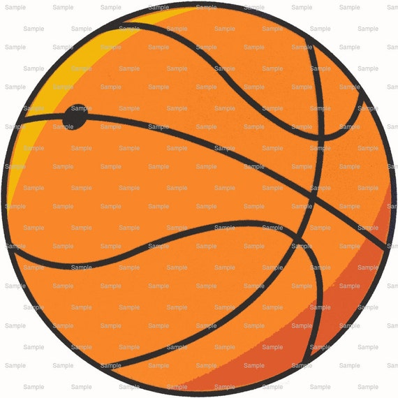 Basketball Birthday - Edible Cake and Cupcake Topper For Birthday's and Parties! - D1139