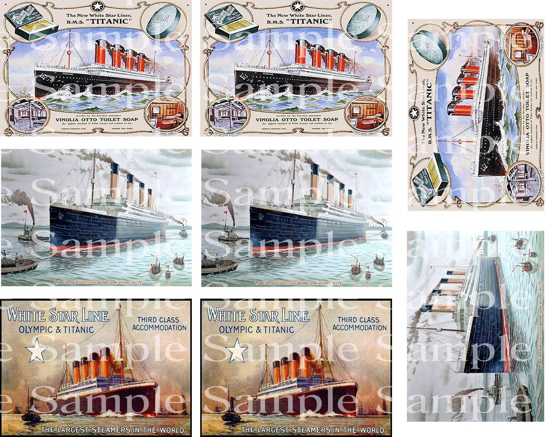 Titanic Vintage Birthday