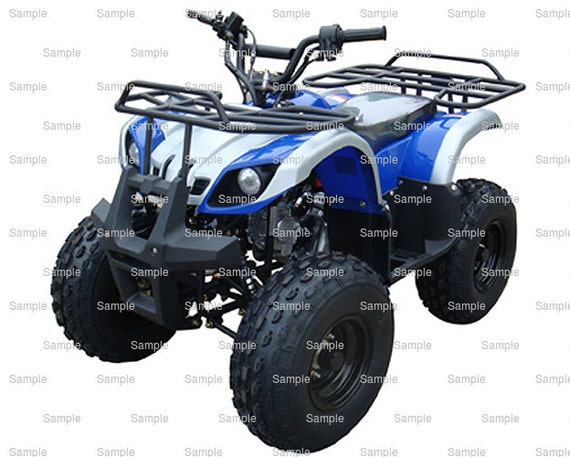 ATV Birthday - Edible Cake and Cupcake Topper For Birthday's and Parties! - D5503