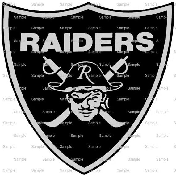 Raiders Mascot Birthday ~ Edible 2D Fondant Birthday Cake/Cupcake Topper ~ D951