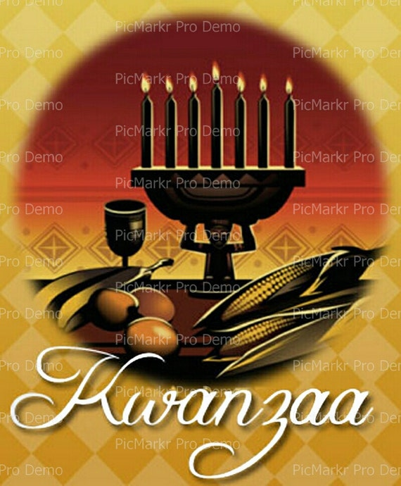 Kwanzaa - Edible Cake and Cupcake Topper For Birthday's and Parties! - D9345
