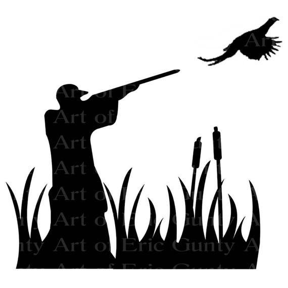 Pheasant Hunting Birthday ~ Edible 2D Fondant Birthday Cake/Cupcake Topper ~ D22623