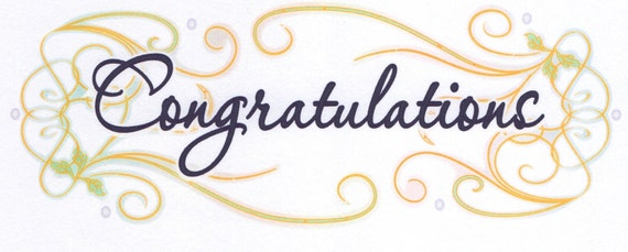 Congratulations Graduation Background - Edible Cake and Cupcake Topper For Birthday's and Parties! - D3038
