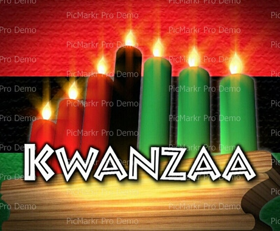 Kwanzaa - Edible Cake and Cupcake Topper For Birthday's and Parties! - D9344