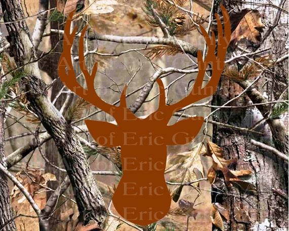 Deer Hunting Camo Birthday ~ Edible 2D Fondant Birthday Cake/Cupcake Topper ~ D22133