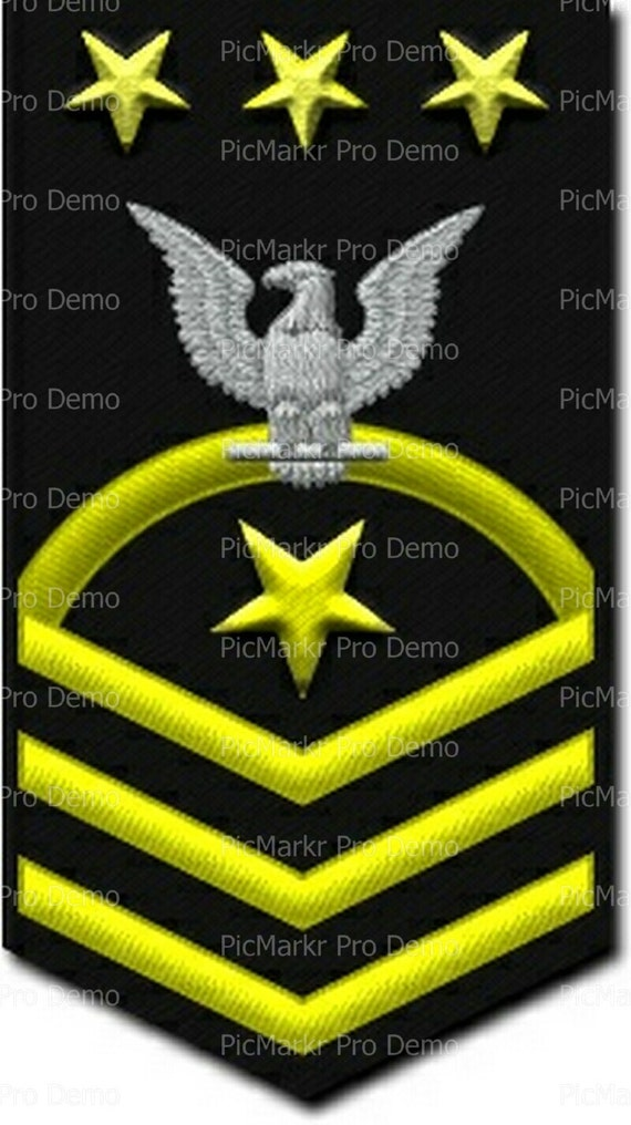 Navy Chief Petty Officer of the Navy Military Insignia Birthday - Edible Cake and Cupcake Topper For Birthday's and Parties! - D20506