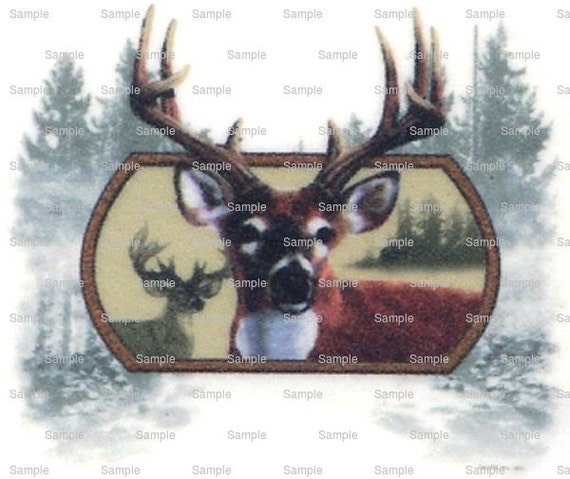 Deer Hunting Birthday - Edible Cake and Cupcake Topper For Birthday's and Parties! - D6180
