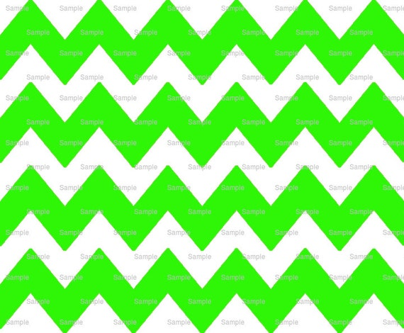 Lime - Chevron Background Birthday - Edible Cake and Cupcake Topper For Birthday's and Parties! - D6343