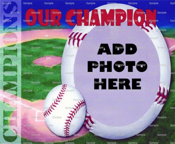 Baseball Birthday ~ Edible 2D Fondant Birthday Cake/Cupcake Topper ~ D4366