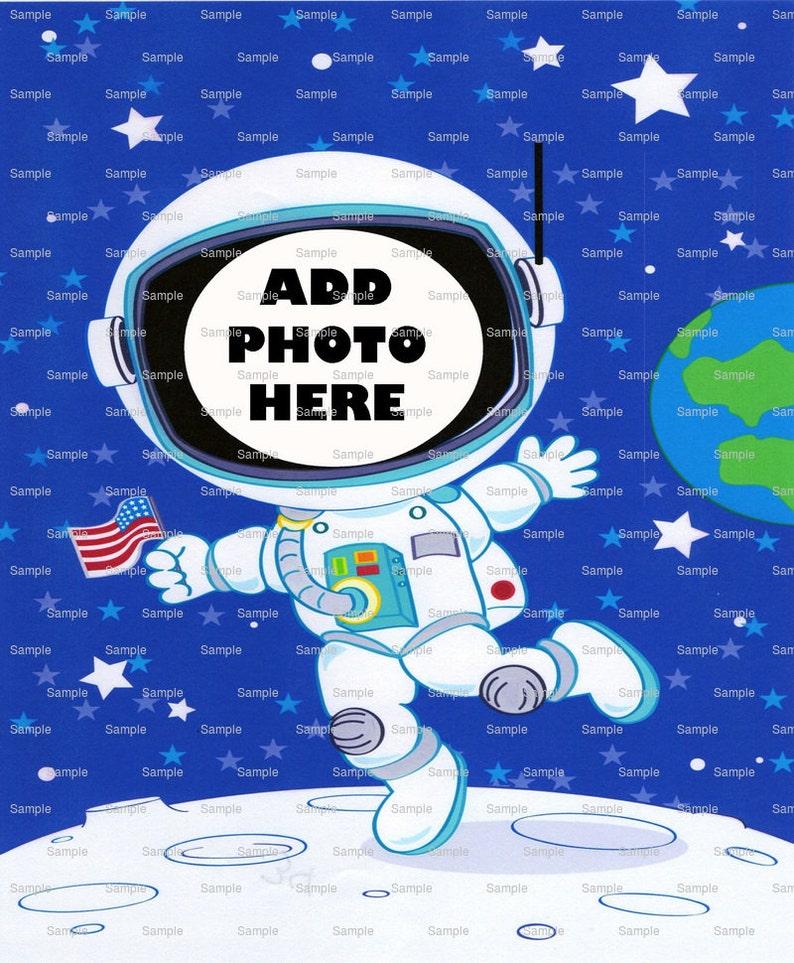 Space Astronaut Birthday Cake Topper Edible 2D Fondant   Etsy