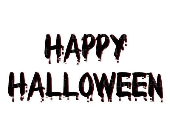 Happy Halloween Birthday ~ Edible 2D Fondant Birthday Cake/Cupcake Topper ~ D22638