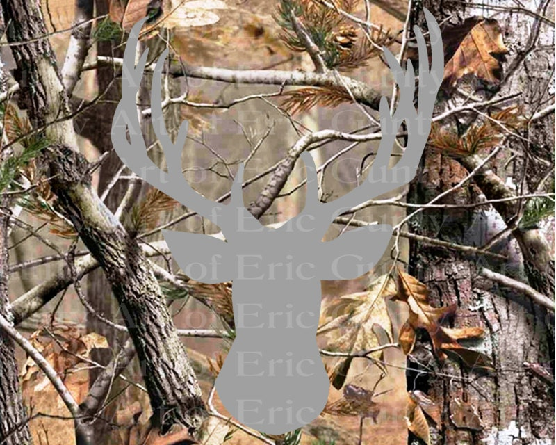 Pleasant Deer Hunting Camo Birthday Frosting Sheet Cake Topper Edible Personalised Birthday Cards Paralily Jamesorg