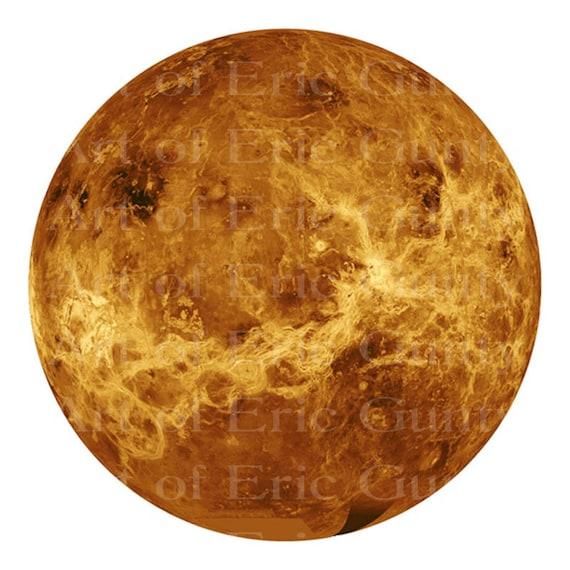 Mercury Planet Space ~ Edible 2D Fondant Birthday Cake/Cupcake Topper ~ D22583