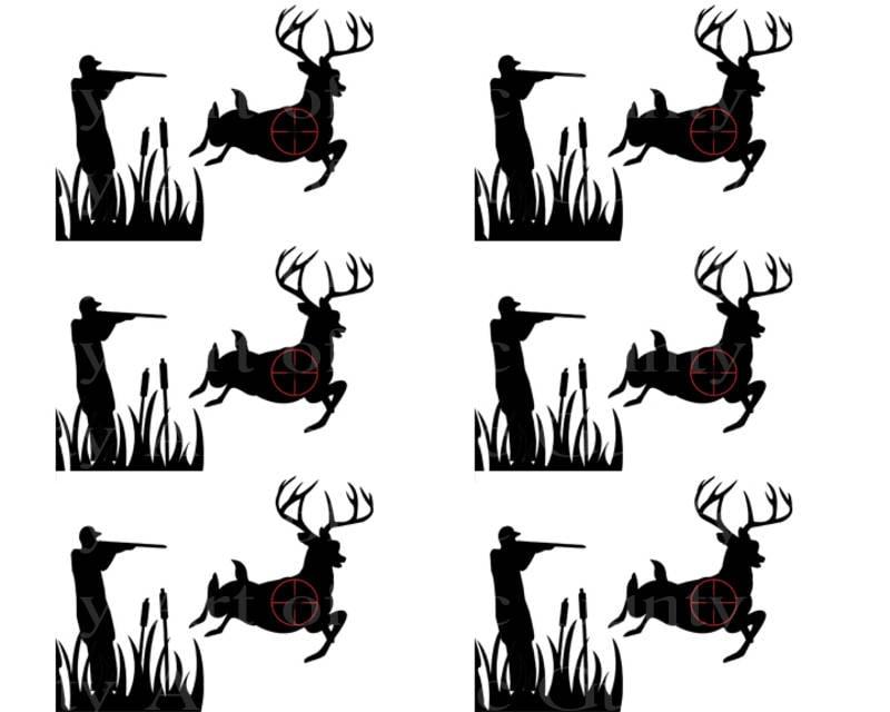 Prime Deer Hunting Birthday Art Of Eric Gunty Edible Cake Toppers Funny Birthday Cards Online Elaedamsfinfo