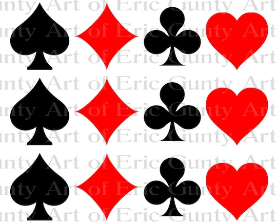 Las Vegas Casino Poker Birthday - Side Strips ~ Edible 2D Fondant Birthday Cake Side Toppers ~ D22798