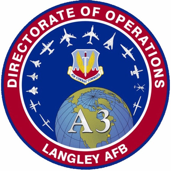 Langley AFB Birthday Topper - Edible Cake and Cupcake Topper For Birthday's and Parties! - D2744