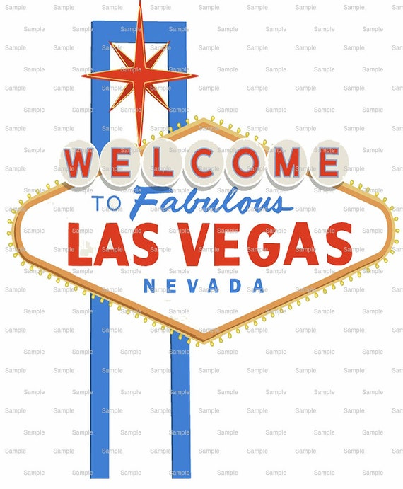 Las Vegas Birthday - Edible Cake and Cupcake Topper For Birthday's and Parties! - D6432