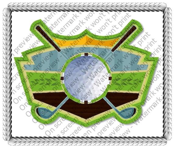 Golfing Birthday ~ Edible 2D Fondant Birthday Cake/Cupcake Topper ~ D644
