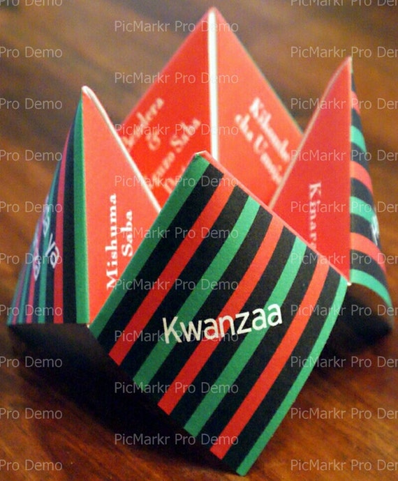 Kwanzaa - Edible Cake and Cupcake Topper For Birthday's and Parties! - D9341