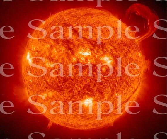Sun Space Birthday ~ Edible 2D Fondant Birthday Cake/Cupcake Topper ~ D24597