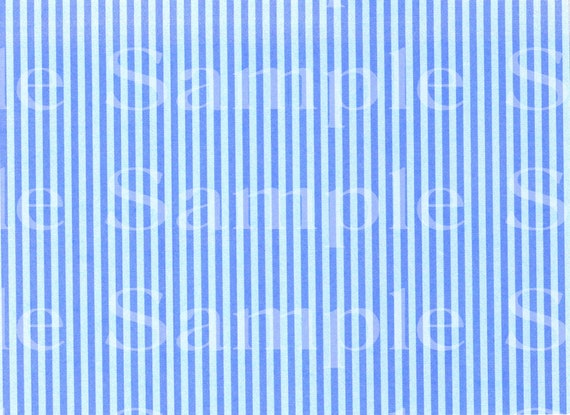 Blue Stripes Background Birthday ~ Edible 2D Fondant Birthday Cake/Cupcake Topper ~ D3024