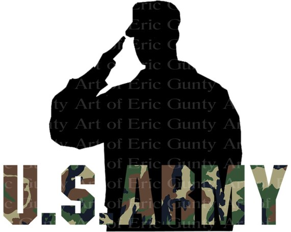 U.S. Army Camo Birthday ~ Edible 2D Fondant Birthday Cake/Cupcake Topper ~ D21915