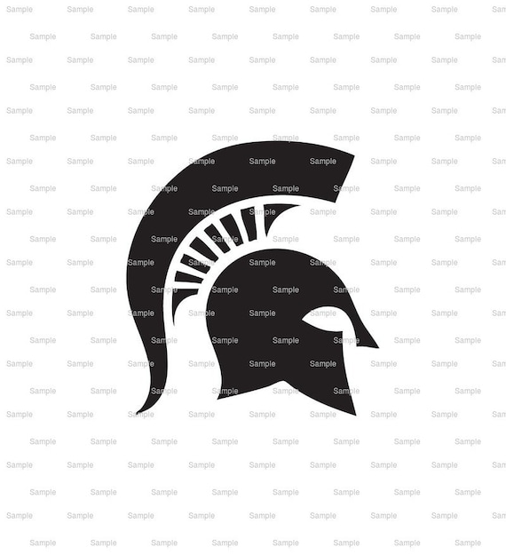 Spartan / Trojan Mascot Birthday - Edible Cake and Cupcake Topper For Birthday's and Parties! - D848