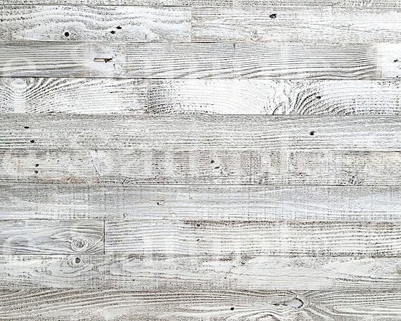 Old White Barn Wood Birthday Background ~ Edible 2D Fondant Birthday Cake/Cupcake Topper ~ D24479