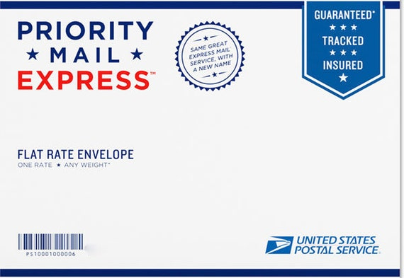 1 Business Day USPS Express Shipping Upgrade!