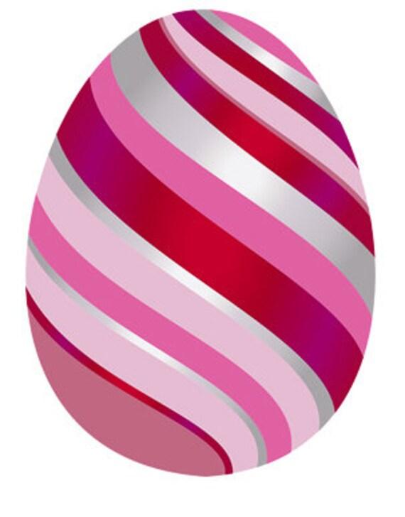 Red Easter Egg Birthday ~ Edible 2D Fondant Birthday Cake/Cupcake Topper ~ D24678