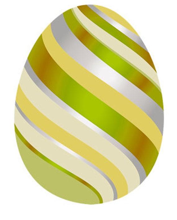 Yellow Easter Egg Birthday ~ Edible 2D Fondant Birthday Cake/Cupcake Topper ~ D24677