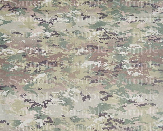 Army Camo Military Birthday Background - Edible Cake and Cupcake Topper For Birthdays and Parties! - D24203