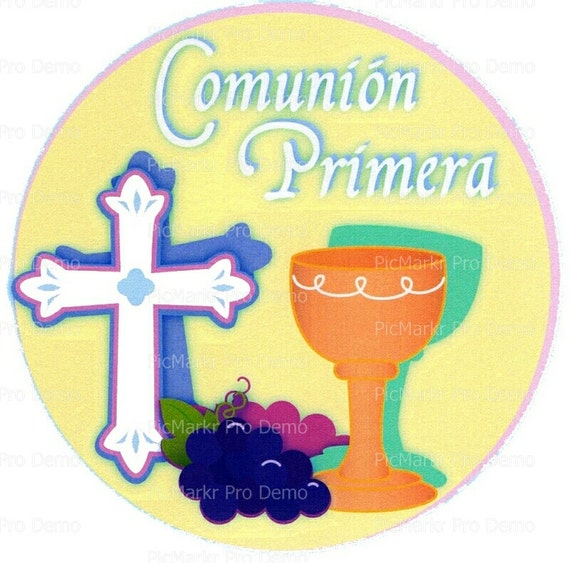 Communion Religious - Edible Cake and Cupcake Topper For Birthday's and Parties! - D3044