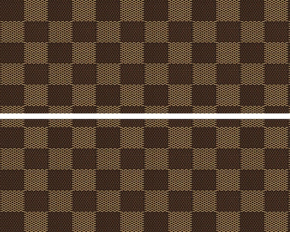 Brown Plaid Birthday - 2D Edible Cake Side Toppers - Decorate The Sides of Your Cake! - D24676