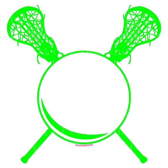 Green LaCrosse Birthday ~ Edible 2D Fondant Birthday Cake/Cupcake Topper ~ D22478