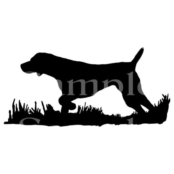 Bird Hunting Dog Birthday - Edible 2D Fondant Cake & Cupcake Topper For Birthdays and Parties! - D24150