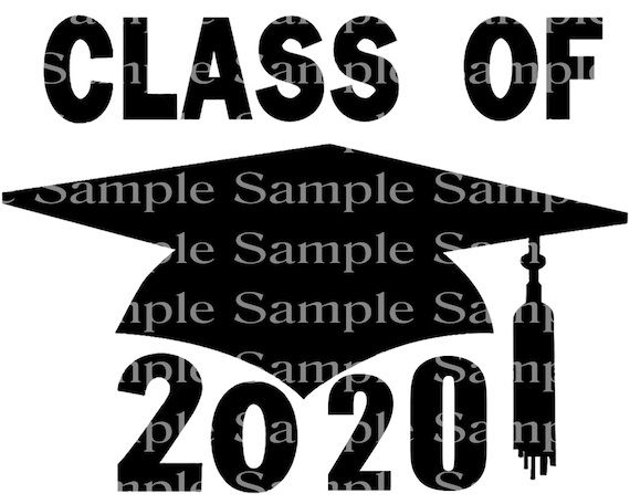 Class of 2020 Spring Graduation Cap - 2D Fondant Edible Cake & Cupcake Topper For Birthdays and Parties! - D24251