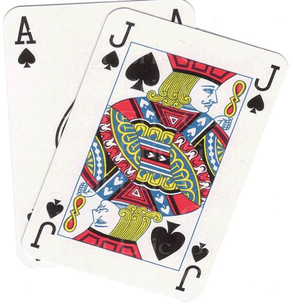 Blackjack Hand Casino Birthday ~ Edible 2D Fondant Birthday Cake/Cupcake Topper ~ D22842