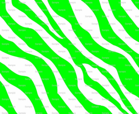 Green Zebra Print - Background Birthday - Edible Cake and Cupcake Topper For Birthday's and Parties! - D9759