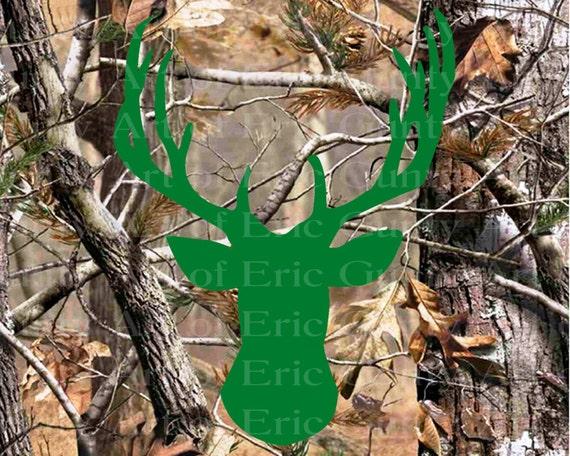 Deer Hunting Camo Birthday ~ Edible 2D Fondant Birthday Cake/Cupcake Topper ~ D22135