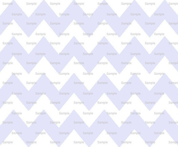 Lavender - Chevron Background Birthday - Edible Cake and Cupcake Topper For Birthday's and Parties! - D9827