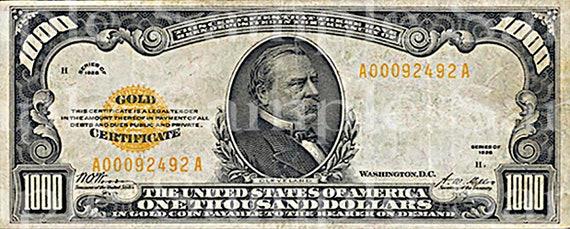 1000 Dollar Bill Casino Birthday ~ Edible 2D Fondant Birthday Cake/Cupcake Topper ~ D24534