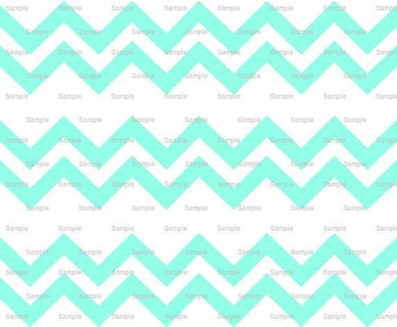 Light Aquamarine - Chevron Birthday Background - Side Strips - Edible Cake Side Toppers- Decorate The Sides of Your Cake! - D9879