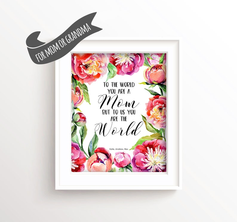 Personalised Mothers Day Gift Idea For Mom Birthday