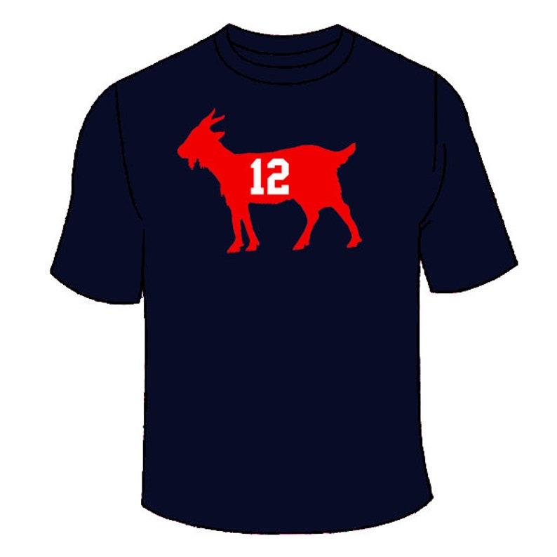 super popular a365f 6a10b Tom Brady GOAT T-Shirt. Patriots Super Championship TShirt Champs New  England Patriots Gift 2018 2019 Rams Awesome Jersey Tee