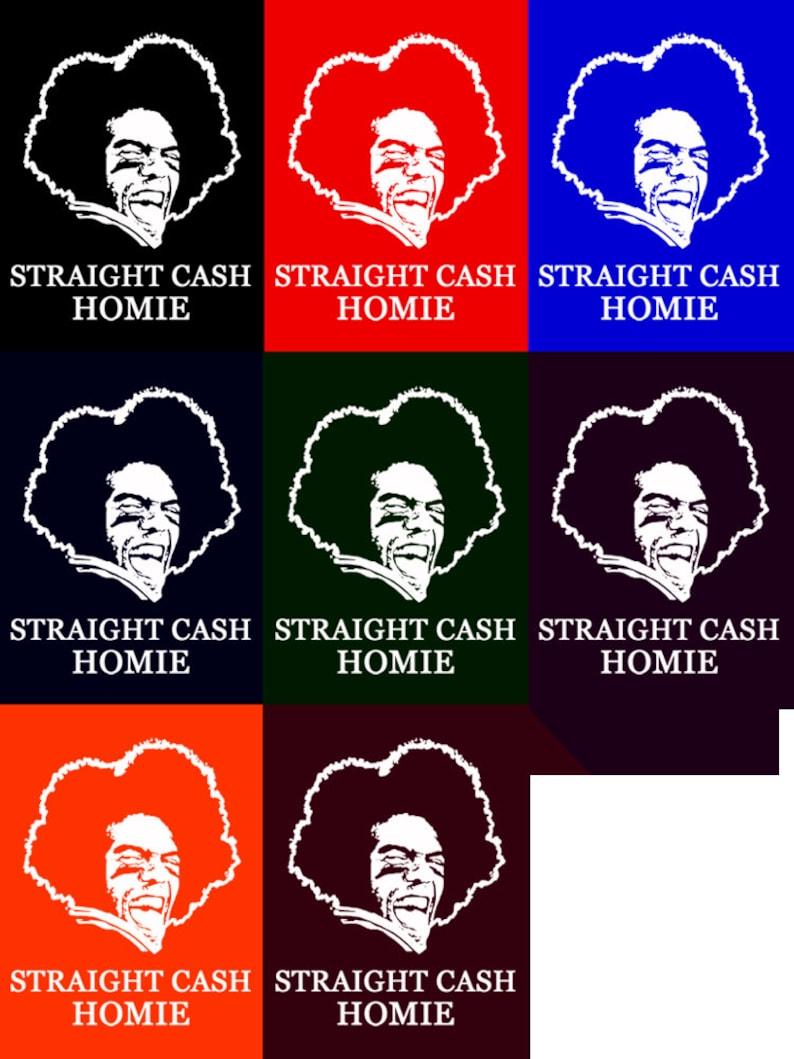 e01037a0 Randy Moss Straight Cash Homie T-Shirt. Funny Vikings Patriots | Etsy