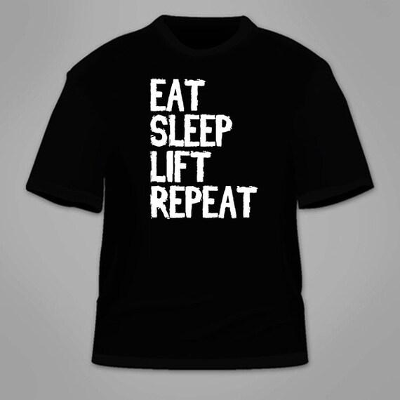 eat sleep train repeat women/'s t shirt funny humour birthday ladies gym fitness