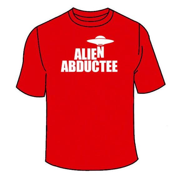 Obcy Porwany T Shirt śmieszne Ufo Cudzoziemca T Shirt W Etsy